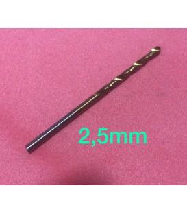Broca HSS 2.5mm.