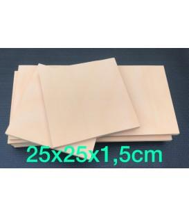 Resina de poliuretano (350) para tallar 25x25x1,5cm