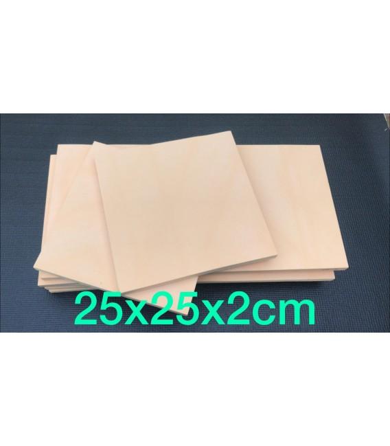 Resina de poliuretano (350) para tallar 25x25x2cm