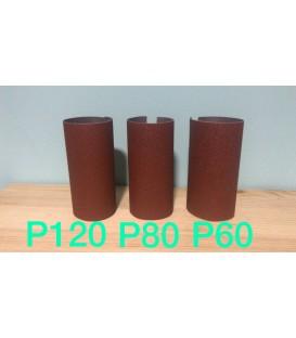 Lija base de tela grano P80 - MEDIA (20x11cm)
