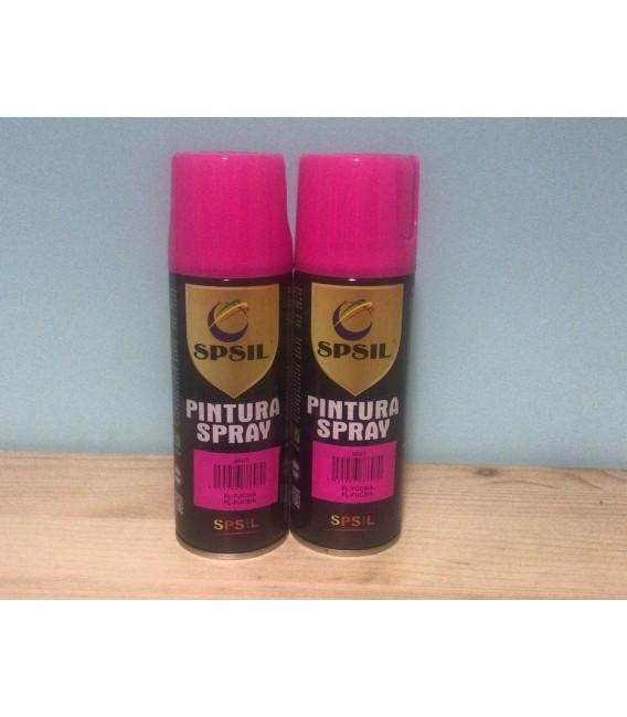 Pintura spray SPSIL 200ml fucsia flúor