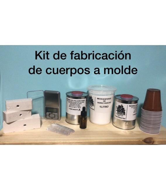 Kit de fabricación de cuerpos a molde.