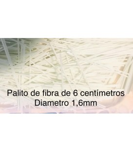 Palito de fibra de vidrio de 1.6mm