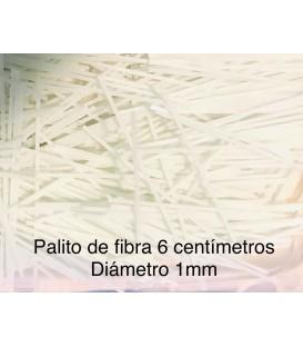 Palito de fibra de vidrio de 1mm