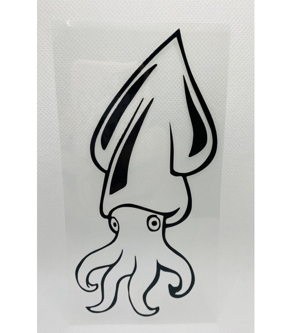 Pegatina calamar 3