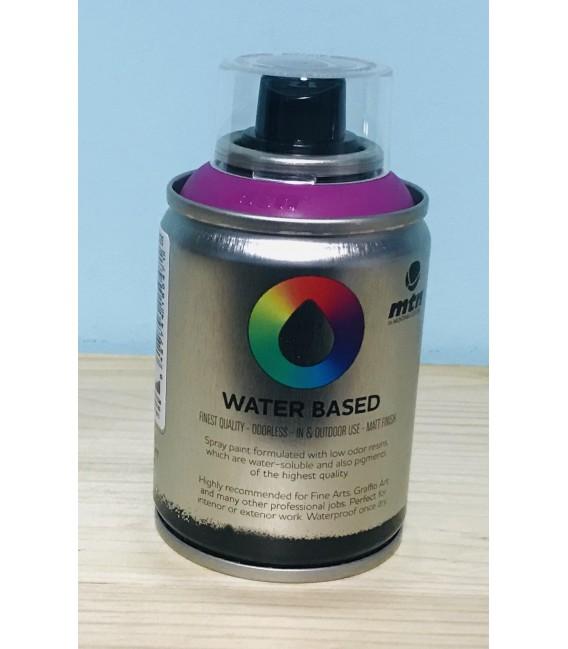 Pintura spray Montana base de agua Morado 100ml.