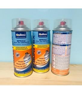 Adhesivo en spray marca Quilosa