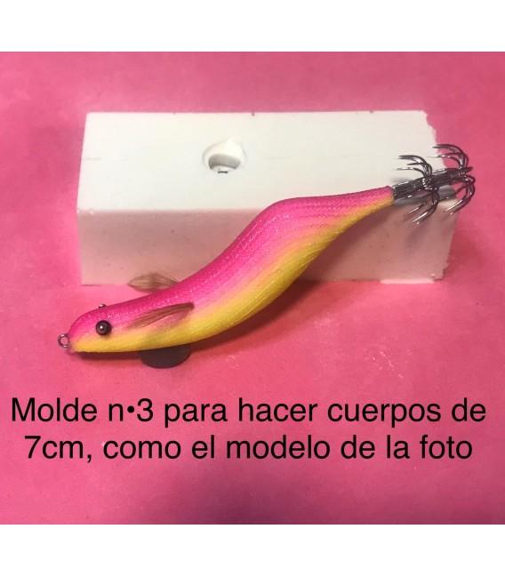 Molde de pez asturiano nº3