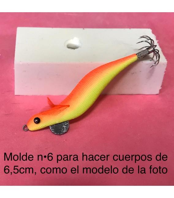 Molde de pez asturiano nº6