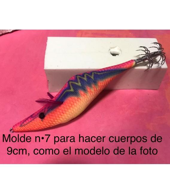 Molde de pez asturiano nº7