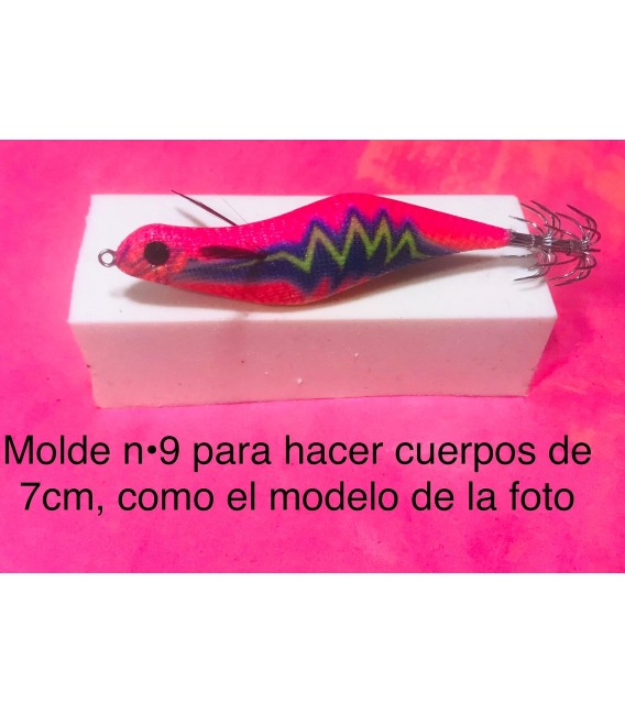 Molde de pez asturiano nº9