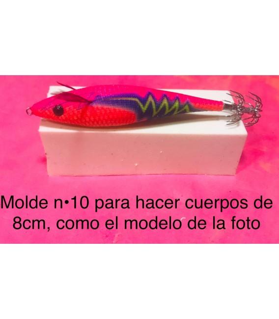 Molde de pez asturiano nº10