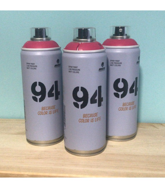 Pintura spray Montana 94 400ml magenta