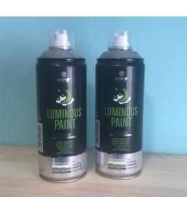 Pintura luminiscente en spray